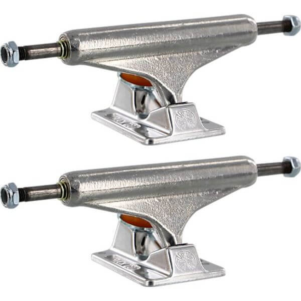 """Independent Stage 11 - 139 mm Forged Hollow Standard Silver Skateboard Trucks - 5.39"""" Hanger 8.0"""" Axle (Set of 2)"""